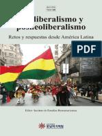 Neoliberalismo y postneoliberalismo