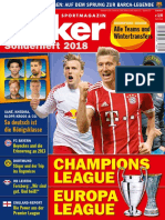Kicker Sonderheft - Champions League 2018