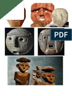 Mascaras Madera y Piedra
