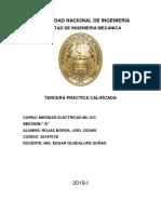 Informe de Medidas
