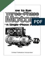 3 Phase Motors on 110v