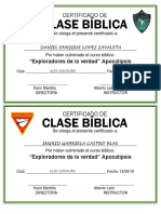 Certificado CONQUIS