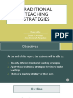 Traditional Teaching