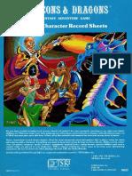 D&D 1980 [TSR Hobbies] Player Character Record Sheets.pdf