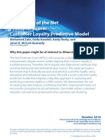 2016 October Paper _Fallacy of the Net Promoter Score