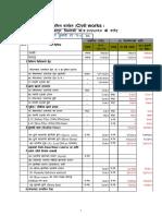 Civil Work Rate Analysis_Kathmandu 2074-75