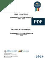 Informe de Gestion 2017 BENEFICENCIA