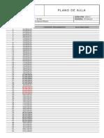 Plano de Aula - Análise Estrutural i