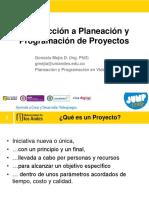 Introduccion a Planeación y Programación de Proyectos