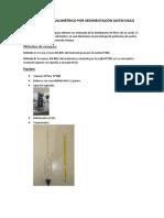 Sedimentación + resultados