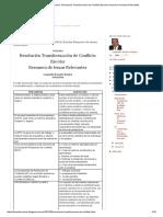 Ingeniero Electromecanico_ Resolución Transformación de Conflicto Escolar Resumen de temas Relevantes.pdf