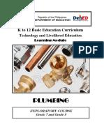 plumbing curriculum