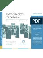 Libro Participación Ciudadana Morales-Molinet 2014