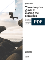 The Enterprise guide to closing the Skill Gap