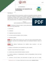 Lei Organica do Município de Mossoró