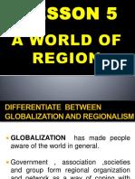 A World of Region l5