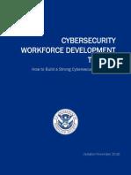 Cybersecurity Workforce Development Toolkit