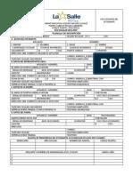 Planilla de Inscripción 19-20