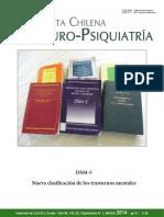 Revista Compara Los Dsm 4 y 5