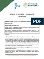 CAVALCANTE PDF - ORIENTAÇÃO OFICINA TARIFÁRIO 23092019