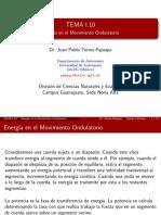 Tema 1.10-Energia en El Movimiento Ondulatorio