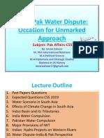 Water Dispute