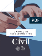 Manual de Procedimiento - Civil