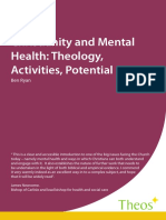 Christiany and mental healthy - em inglês