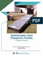 Inta Deshidratador Solar Patagonico