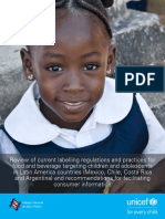 UNICEF and Child Nutrition Report