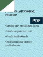 Funciones Del Directorio