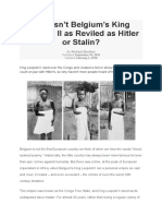 [ARTICLE] HISTORY - Why Isn't Belgium's King Leopold II as Reviled as Hitler or Stalin
