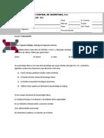 Examen Clinica Parcial Uno