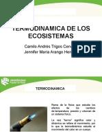 termodinámica de los ecosistemas
