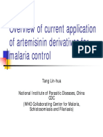 02 Review on Artemisinine Derivatives for Malaria Control TANG Lin-hua