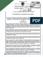 Decreto 3032 Diciembre 27 2013 Definicion Tipo de Persona