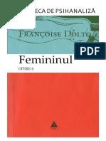Francoise Dolto - Femininul