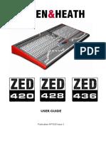 Ap7028 Zed420 Zed428 Zed436 User Guide Issue 2