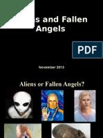 ALIENS AND FALLEN ANGELS