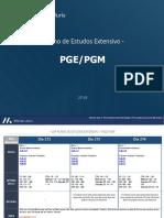 FASE 10 Extensivo Completo PGE e PGM1