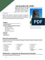 Monumentos Nacionales de Chile