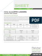 Pipe Acoustic Lagging Technical Data Sheet