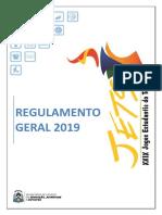 1. Regulamento Geral 2019