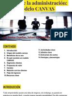 Teoría de La Administración_ Modelo CANVAS