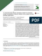 Transportation Research Part D- Transport and Environment Volume 50 Issue 2017 [Doi 10.1016%2Fj.trd.2016.10.014] Genikomsakis, Konstantinos N.; Mitrentsis, Georgios -- A Computationally Efficient Simu