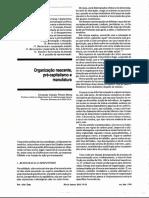 Material de Enriquecimento 1 - Organização Nascente, Pré-capitalismo e Manufatura