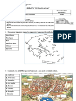 Guía  Tercero Básico Los griegos Parte 1