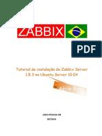 Tutorial de Instalacao Do Zabbix 1-8-3