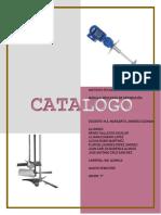 Catálogo  Agitación y Mezclado