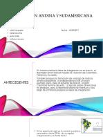 Integracion Andina y Sudamericana